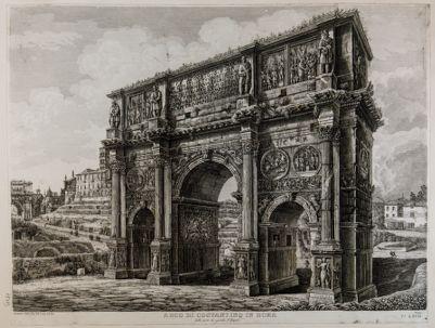 Arco di Costantino, lato sud