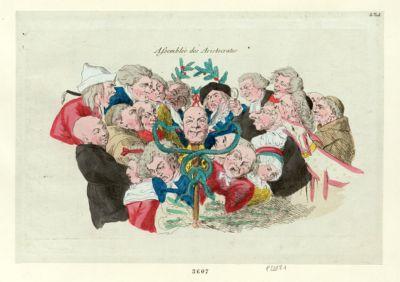 Assemblée des aristocrates [estampe]