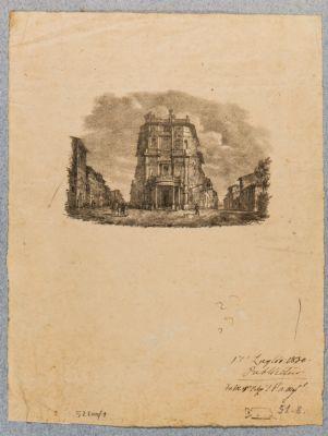 Palazzo Zuccari. Facciatina sulla piazza Trinità dei Monti
