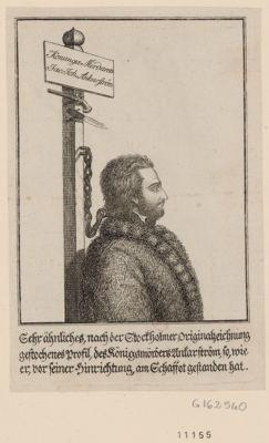 Konunga Mördaren Jac. Joh. Ankarström gehr ähnliches, nach der Stockholmer originalzeichnung gestochenes Profil... : [estampe]