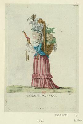 Madame des trois états [estampe]