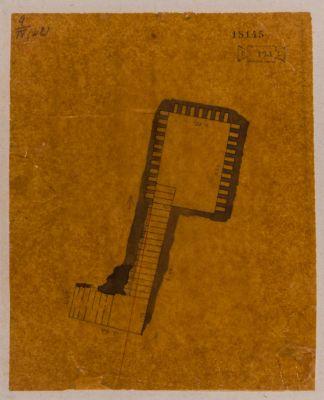 Colombario presso porta Prenestina, pianta di una camera sepolcrale