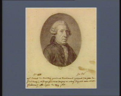 M.s Bonet de treiches president lieutenant general de la Sénéchaussée et juge présidial du puy en velay Deputé aux etats généraux né 1722 le 29 7.bre : [dessin]