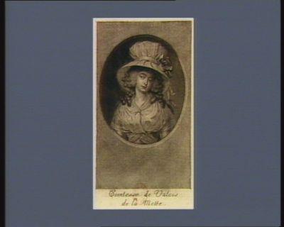 Comtesse de Valois de la Motte [estampe]