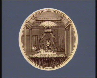 Ouverture des Etats generaux par Louis XVI , le 4 mai 1789, a Versailles [estampe]