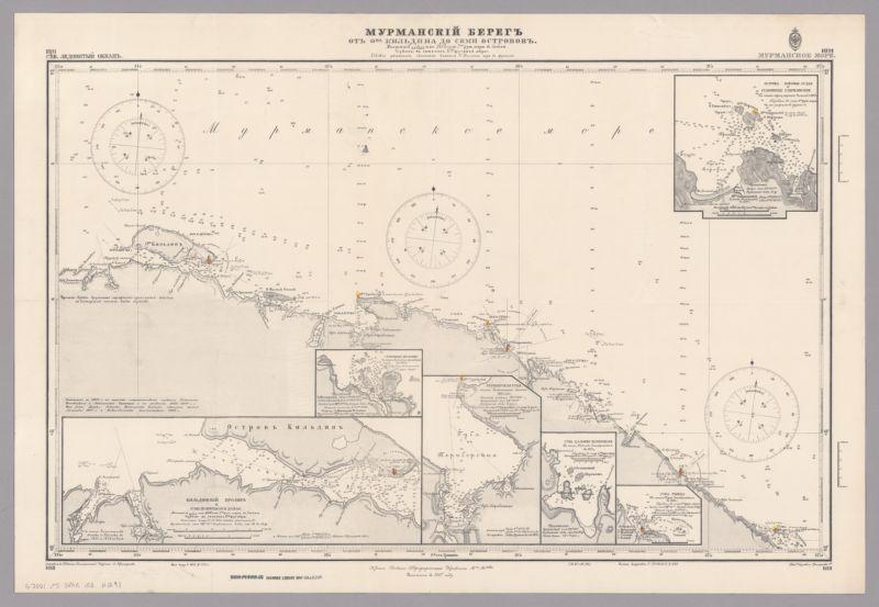 [Russian Empire nautical charts]