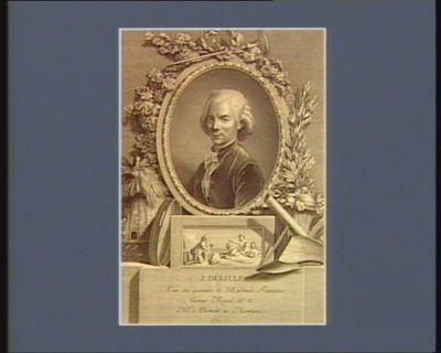 J. Delille l'un des quarante de l'Académie française, lecteur royal, né <em>à</em> Clermont en Auvergne : [estampe]