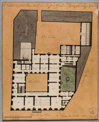Palazzo Madama. Primo piano, pianta