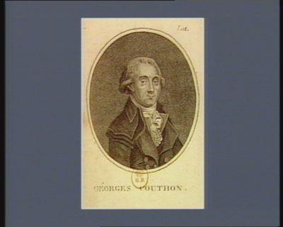 Géorges Couthon député du dép.t du Puy de Dome à l'Assemblée nat.le l'an 1.er de la République : né a Orsay en 1756 décapité le 10 ther.dor l'an 2 : [estampe]
