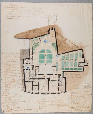 Casa di Pietro Berettini da Cortona, pianta