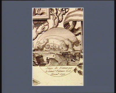 Siège de Namur par le génér.l Valence le 15 novemb 1792 [estampe]