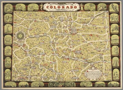 Conoco 1931 official road map, Colorado [cartographic material] in on forest map of colorado, topographical map of colorado, large map of colorado, river map of colorado, water of colorado, travel map of colorado, map of southern colorado, elevation map of colorado, world map of colorado, cities and towns in colorado, physical map of colorado, restaurants of colorado, park map of colorado, home of colorado, all cities in colorado, map of of colorado, locator map of colorado, road atlas of colorado, detailed map colorado, colorado state map colorado,