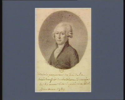 M. dubois procureur du Roi de la Sénéchaussée de chatellerault maire de la meme ville deputé aux etats generaux 1789 : [dessin]