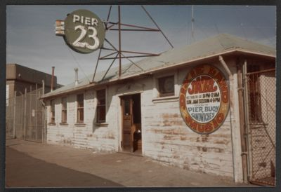 Pier 23, Burt Bales' venue 1955-1966