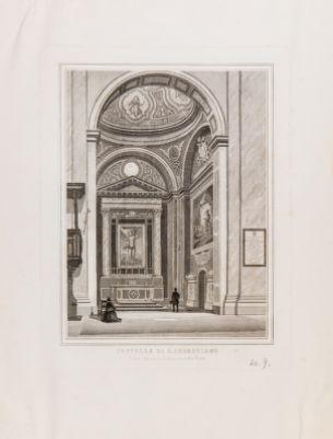 Chiesa di S. Andrea della Valle. Cappella di S. Sebastiano