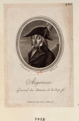 Augereau General des Armées de la Rep fr [estampe]