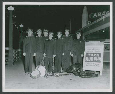 Turk Murphy Jazz Band in front of the Aragon Ballroom