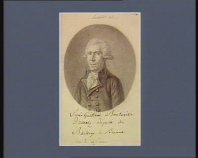 Louis Guillaume Bouteville Dumetz député du Baillage de Péronne agé de 45 ans : [dessin]