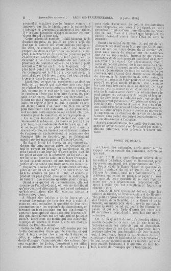 Tome 28 : Du 6 au 28 juillet 1791 - page 2