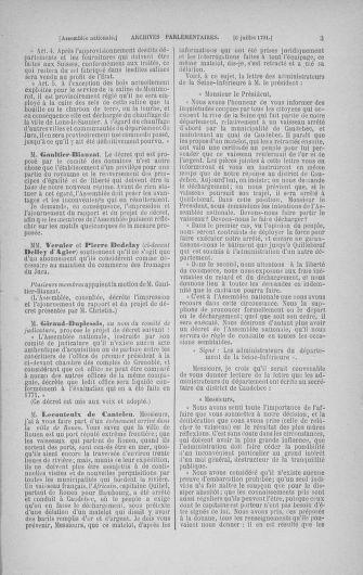 Tome 28 : Du 6 au 28 juillet 1791 - page 3