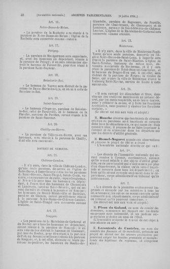 Tome 28 : Du 6 au 28 juillet 1791 - page 40