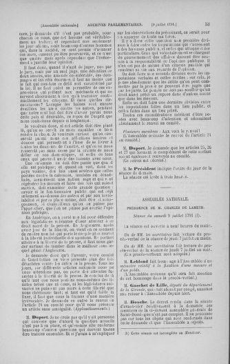 Tome 28 : Du 6 au 28 juillet 1791 - page 53