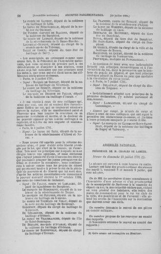 Tome 28 : Du 6 au 28 juillet 1791 - page 98