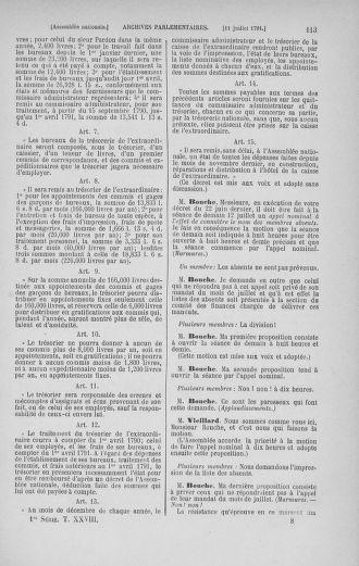 Tome 28 : Du 6 au 28 juillet 1791 - page 113