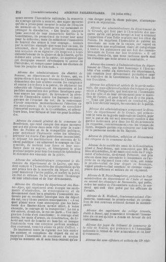 Tome 28 : Du 6 au 28 juillet 1791 - page 214