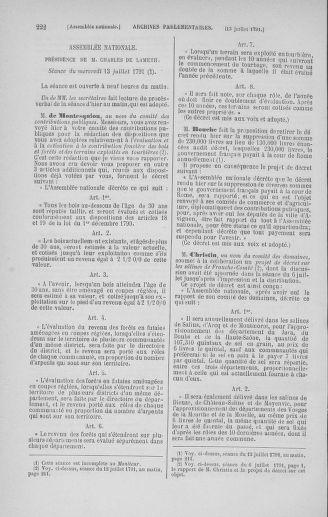 Tome 28 : Du 6 au 28 juillet 1791 - page 222