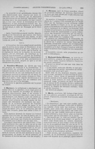 Tome 28 : Du 6 au 28 juillet 1791 - page 223