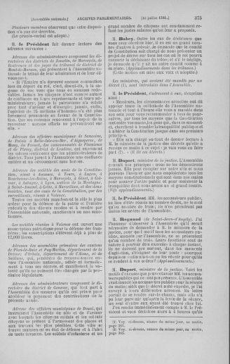 Tome 28 : Du 6 au 28 juillet 1791 - page 375