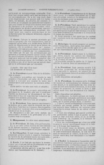 Tome 28 : Du 6 au 28 juillet 1791 - page 394
