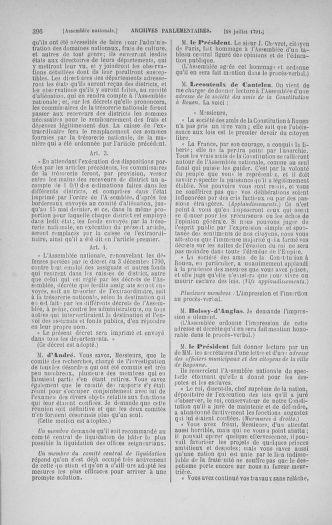Tome 28 : Du 6 au 28 juillet 1791 - page 396