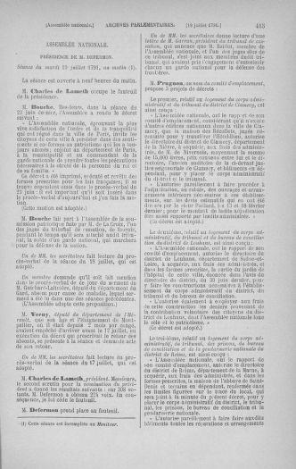 Tome 28 : Du 6 au 28 juillet 1791 - page 415