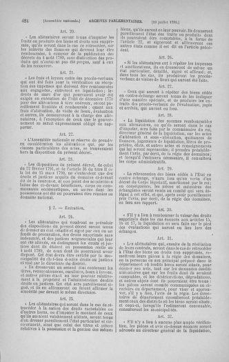 Tome 28 : Du 6 au 28 juillet 1791 - page 424