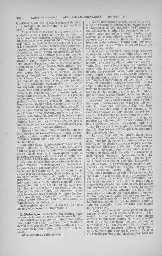 Tome 28 : Du 6 au 28 juillet 1791 - page 436