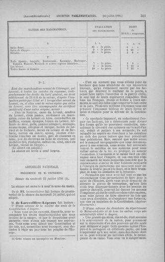 Tome 28 : Du 6 au 28 juillet 1791 - page 503