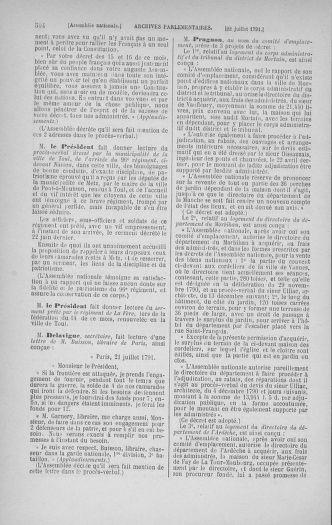 Tome 28 : Du 6 au 28 juillet 1791 - page 504