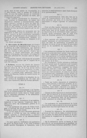 Tome 28 : Du 6 au 28 juillet 1791 - page 505