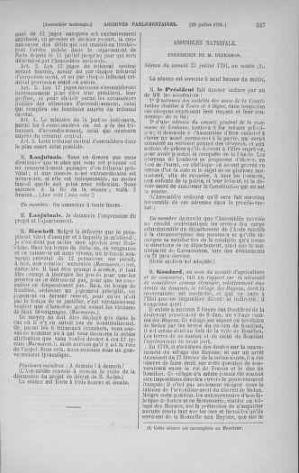 Tome 28 : Du 6 au 28 juillet 1791 - page 527