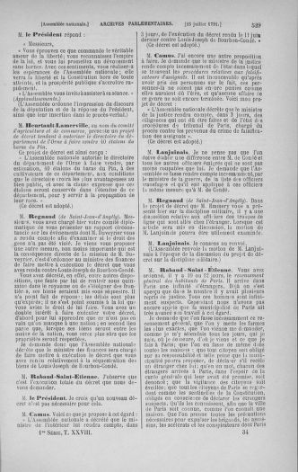Tome 28 : Du 6 au 28 juillet 1791 - page 529