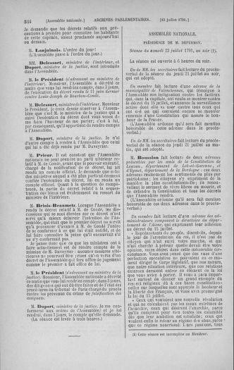 Tome 28 : Du 6 au 28 juillet 1791 - page 544