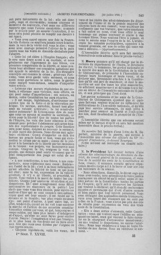 Tome 28 : Du 6 au 28 juillet 1791 - page 545