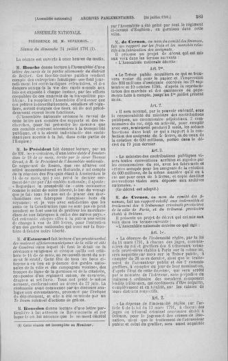Tome 28 : Du 6 au 28 juillet 1791 - page 583