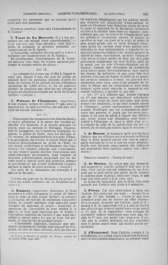 Tome 28 : Du 6 au 28 juillet 1791 - page 585