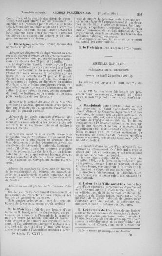 Tome 28 : Du 6 au 28 juillet 1791 - page 593