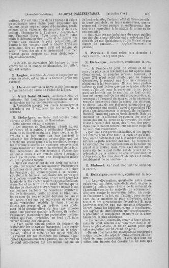 Tome 28 : Du 6 au 28 juillet 1791 - page 679