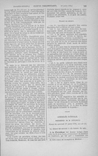 Tome 28 : Du 6 au 28 juillet 1791 - page 711