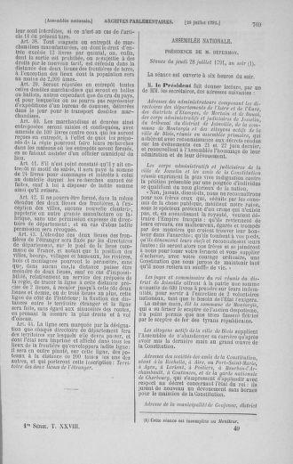 Tome 28 : Du 6 au 28 juillet 1791 - page 769